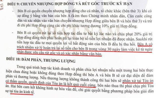Hop Dong Hop Tac Kinh Doanh Bds Nhat Nam