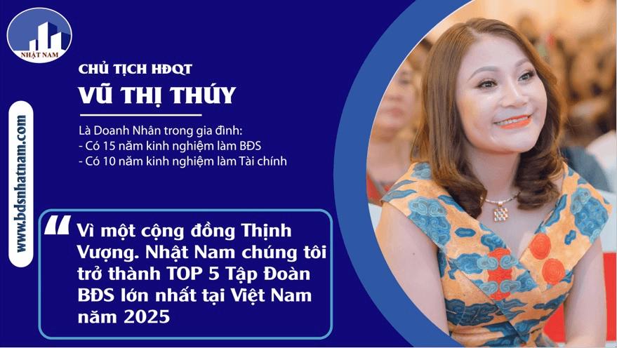 Ba Vu Thi Thuy Noi Ve Tuong Lai Bat Dong San Nhat Nam